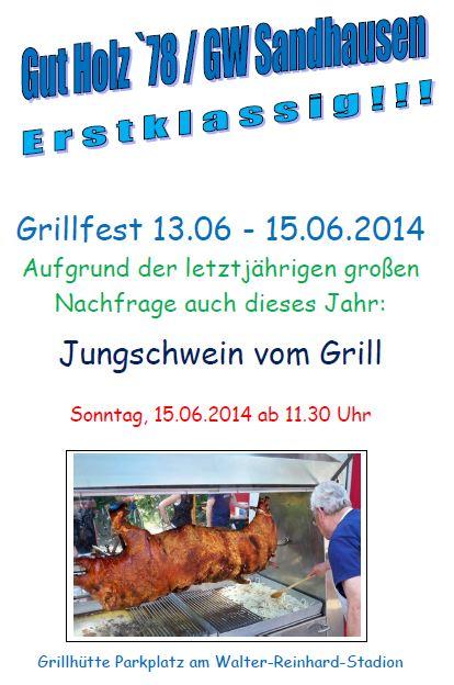 Grillfest GHS Spanferkel