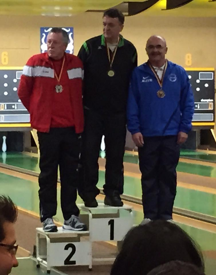 Senioren B: Platz 2 - Herbert Janisch, Platz 3 - Walter Reinhardt