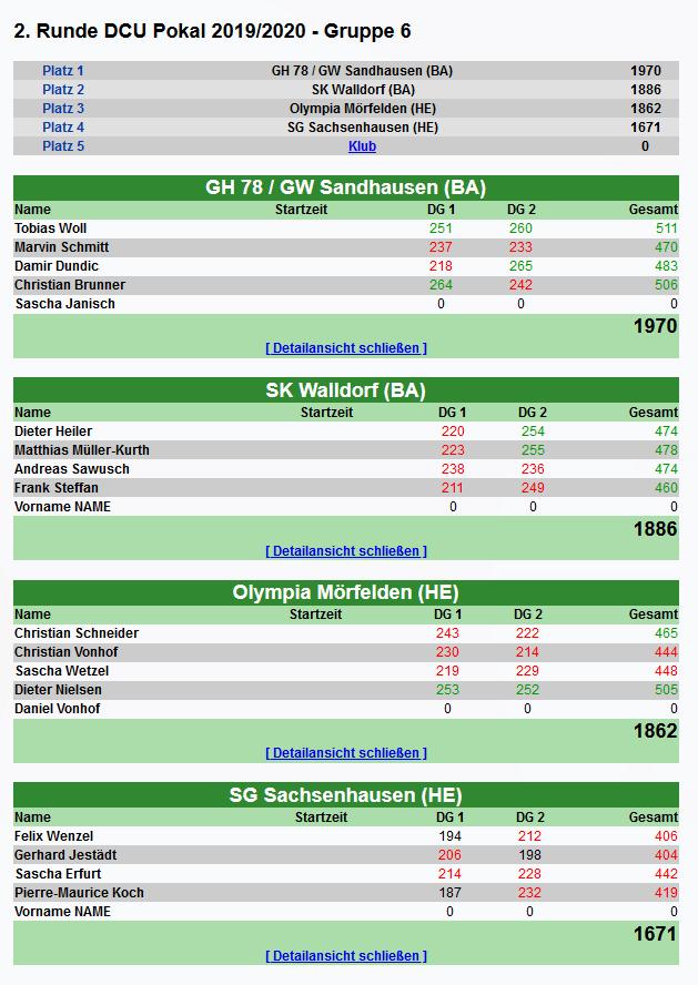 DCU_Pokalrunde2_Ergebnis